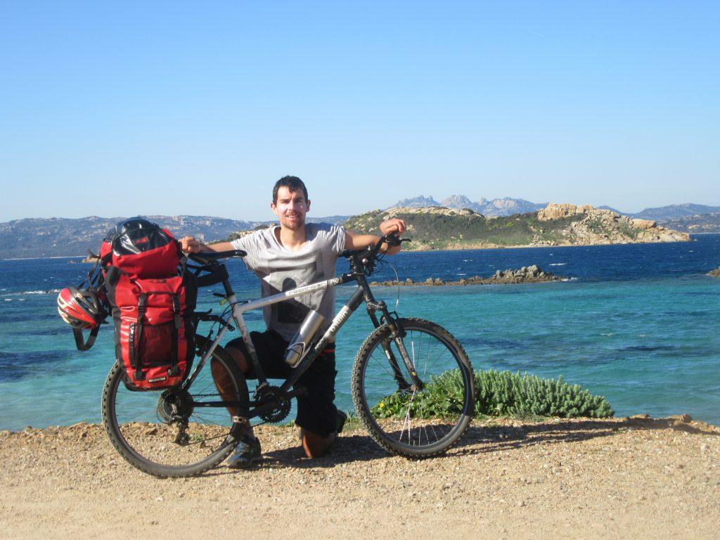 archipel de Maddalena à vélo