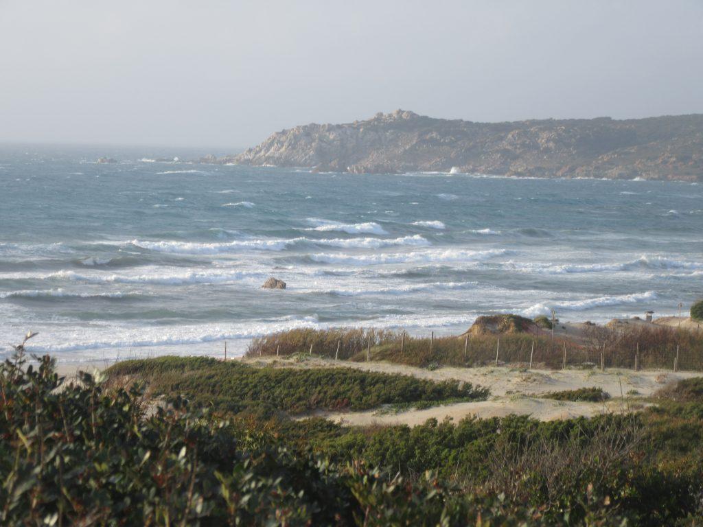 la côte Nord de la Sardaigne