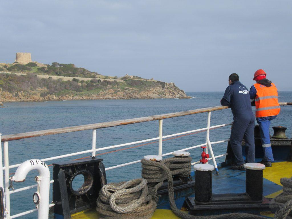 ferry mobylines Bonifacio - Santa Teresa