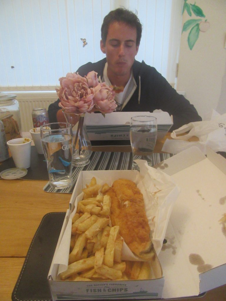 fish and chips pays de galles