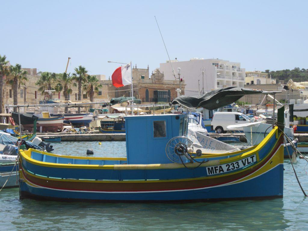 Marsaxlokk, village pecheurs Malte
