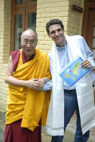 rencontre avec le dalai lama