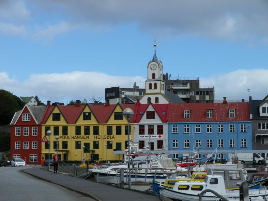 Torshavn capitale Féroé