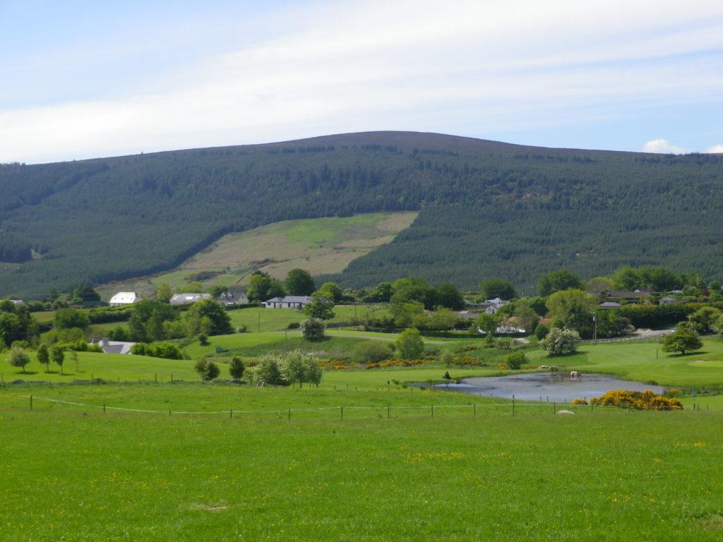 Voyage à vélo en Irlande : Wicklow mountains à vélo
