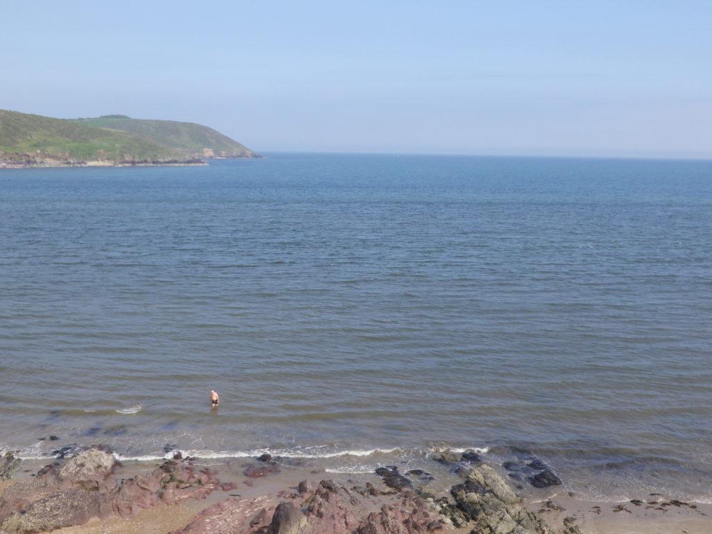 La côte est de l'Irlande à Youghal