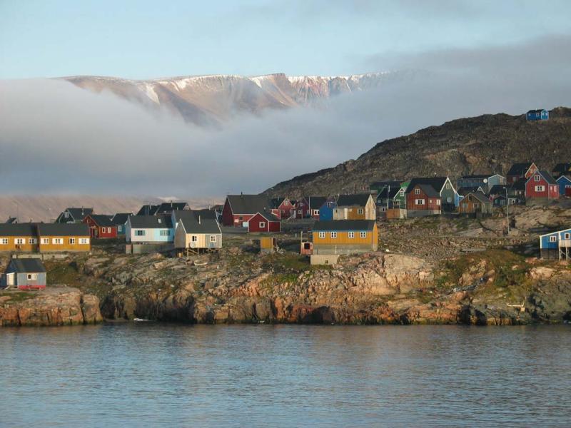 scoresbysund au Groenland