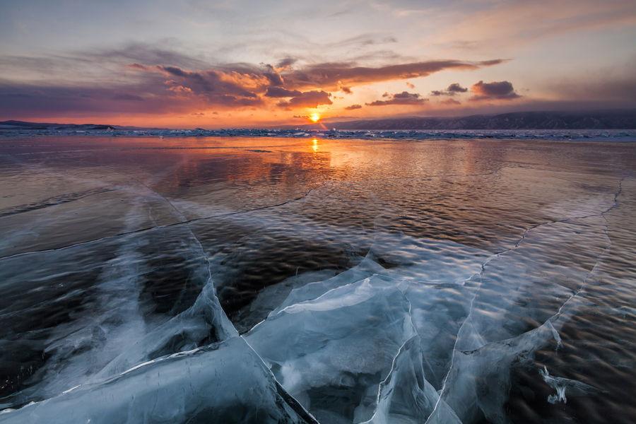 Le lac Baikal en Sibérie Russie