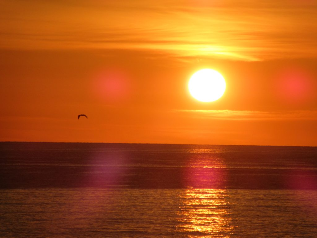 Cala Gonone lever du soleil
