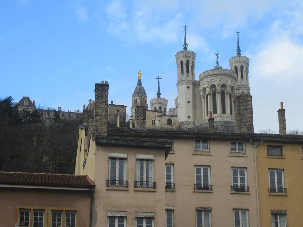 basilique Notre Dame de Fourvière à Lyon