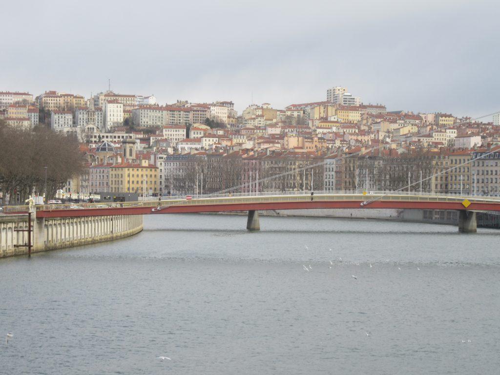 le quartier de la Croix Rousse à Lyon