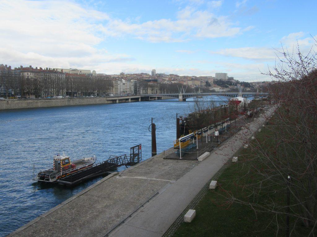 quais du Rhône à Lyon