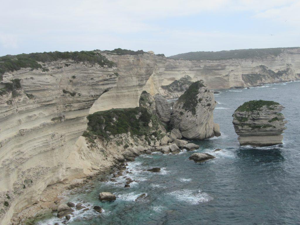 falaises calcaires de Bonifacio