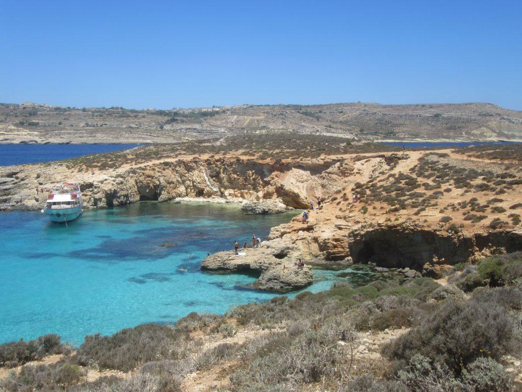 Comino, Malte, plage, amoureux