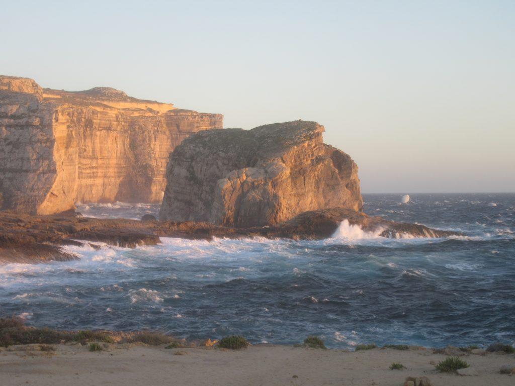 Dwejra falaises gozo