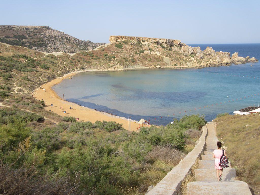Għajn Tuffieħa Bay malte golden beach