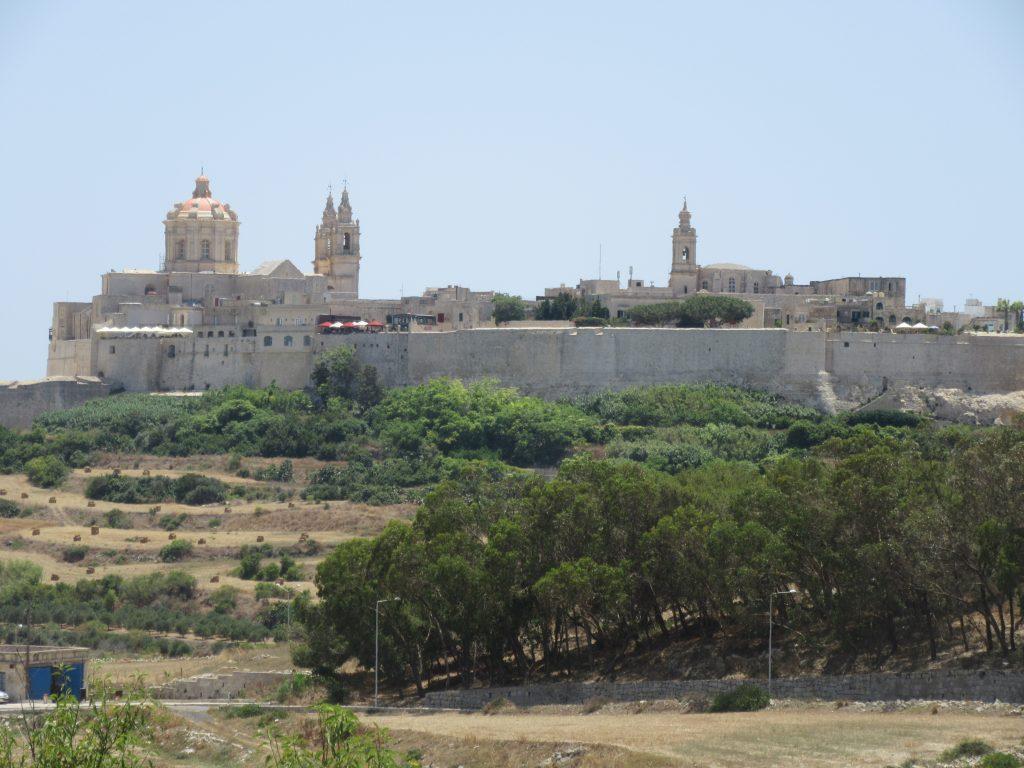 citadelle Mdina Malte à voir