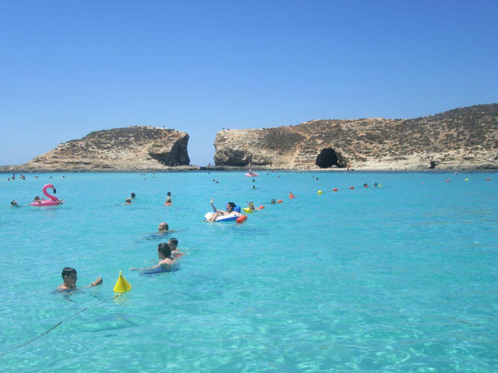 Blue lagoon ile de Comino