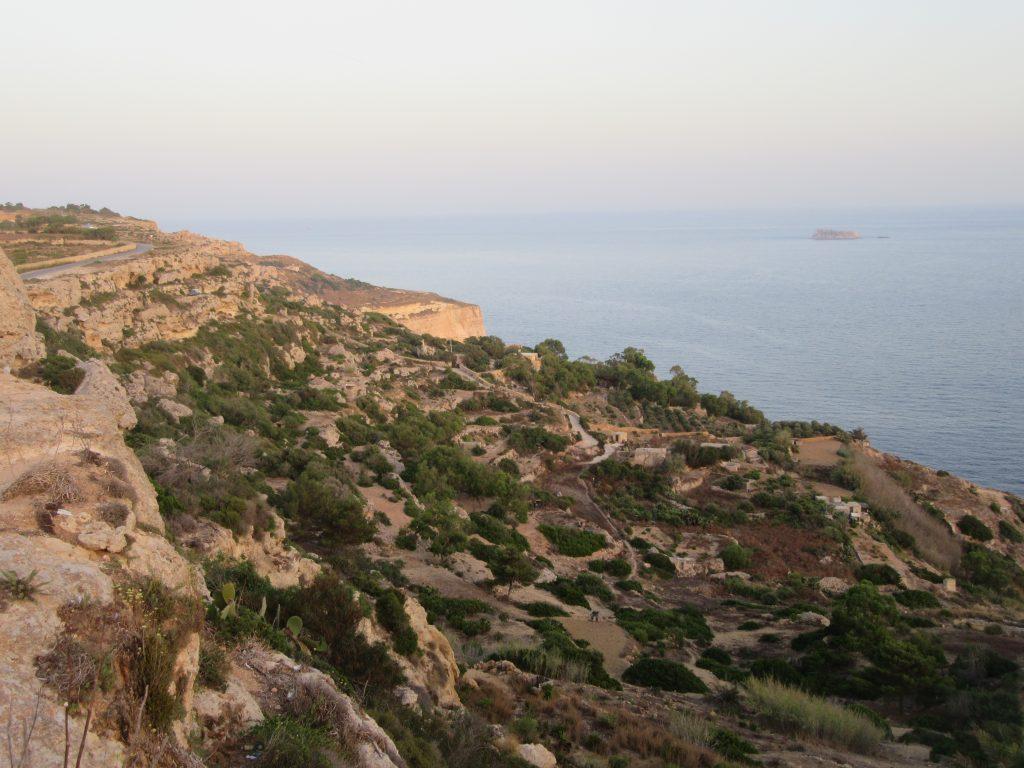 les falaises de Dingli / Dingli cliffs