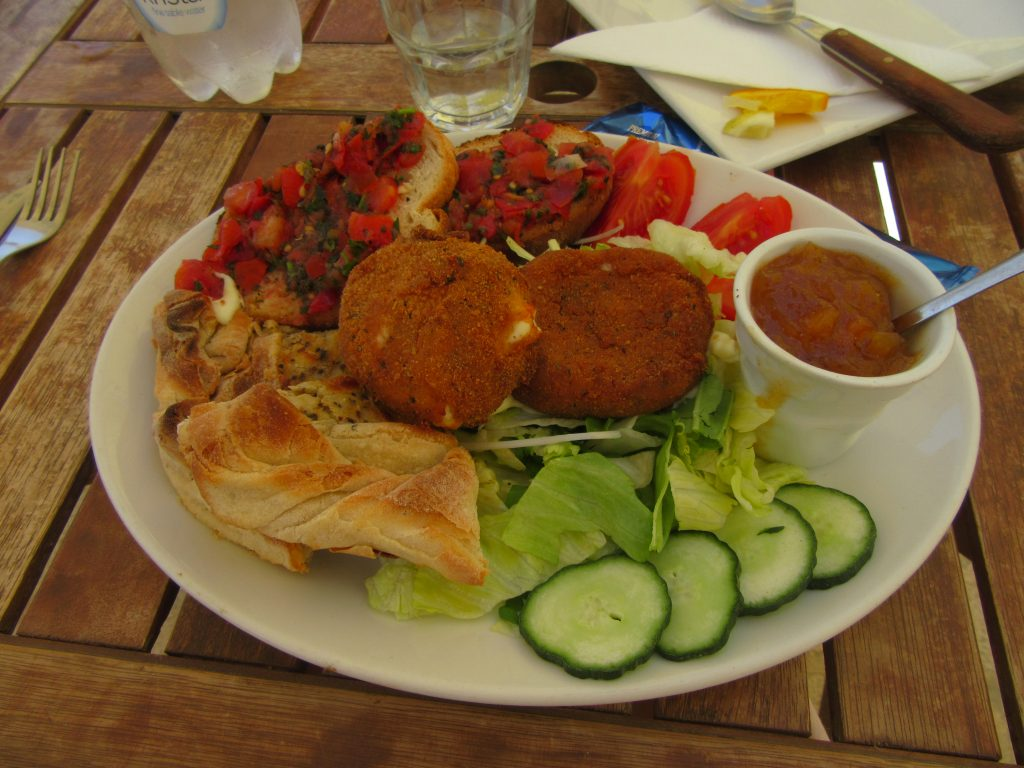 Gastronomie locale, spécialité maltaise à Gozo restaurant
