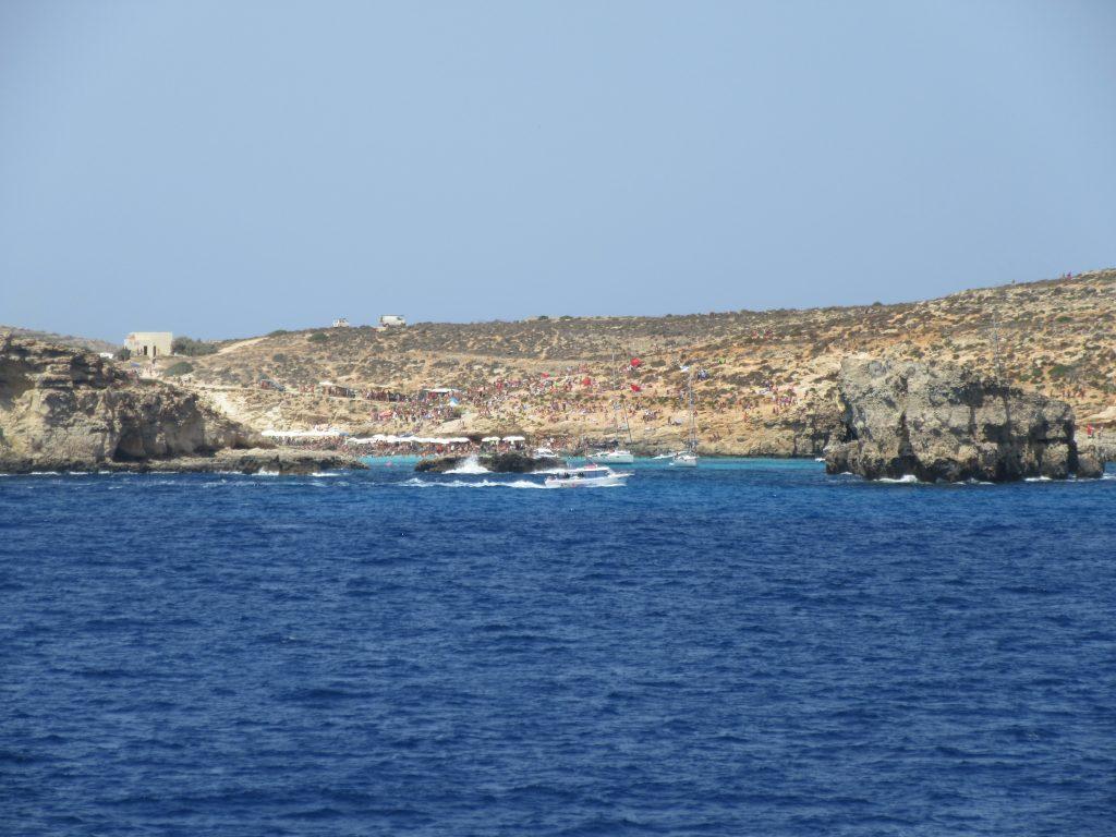 lagon bleu de comino ferry malte gozo