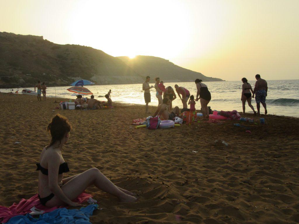 ramla bay plage de sable gozo