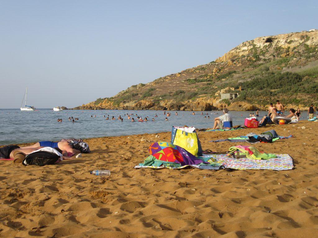 Ramla Bay Gozo plage de sable