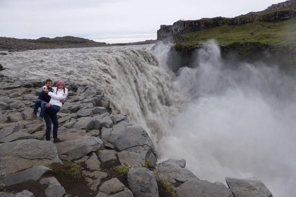 cascade de Dettifoss Islande la plus puissante d'Europe