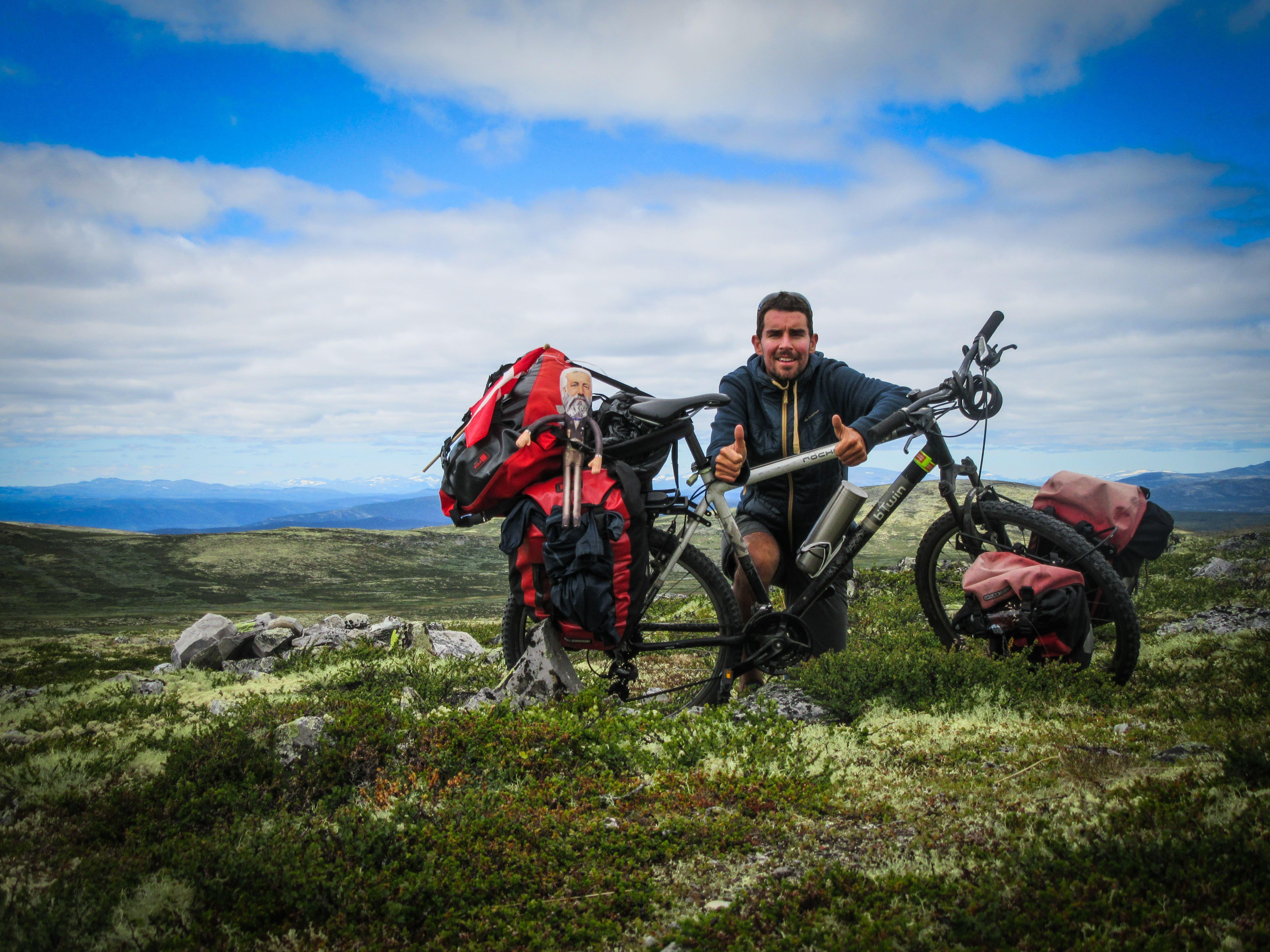 voyage à vélo en Norvège