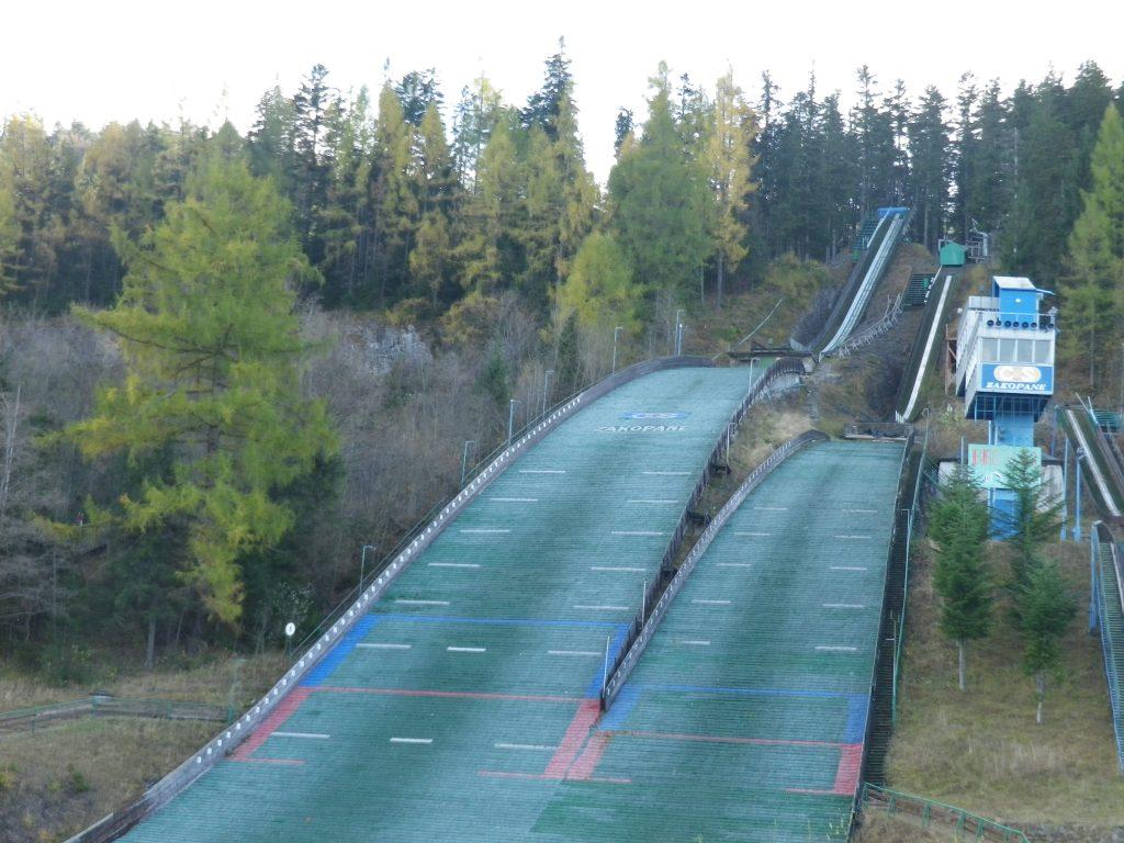 tremplin saut à ski Zakopane Pologne