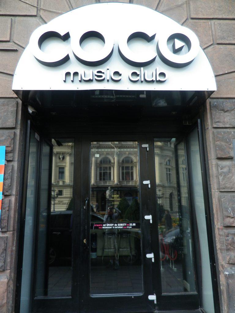boite de nuit Cracovie Coco Club