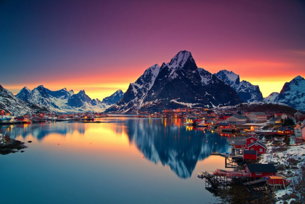 Soleil de minuit Lofoten