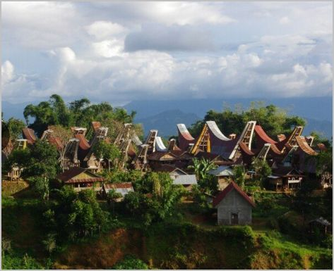 Sulawesi, pays Toraja,