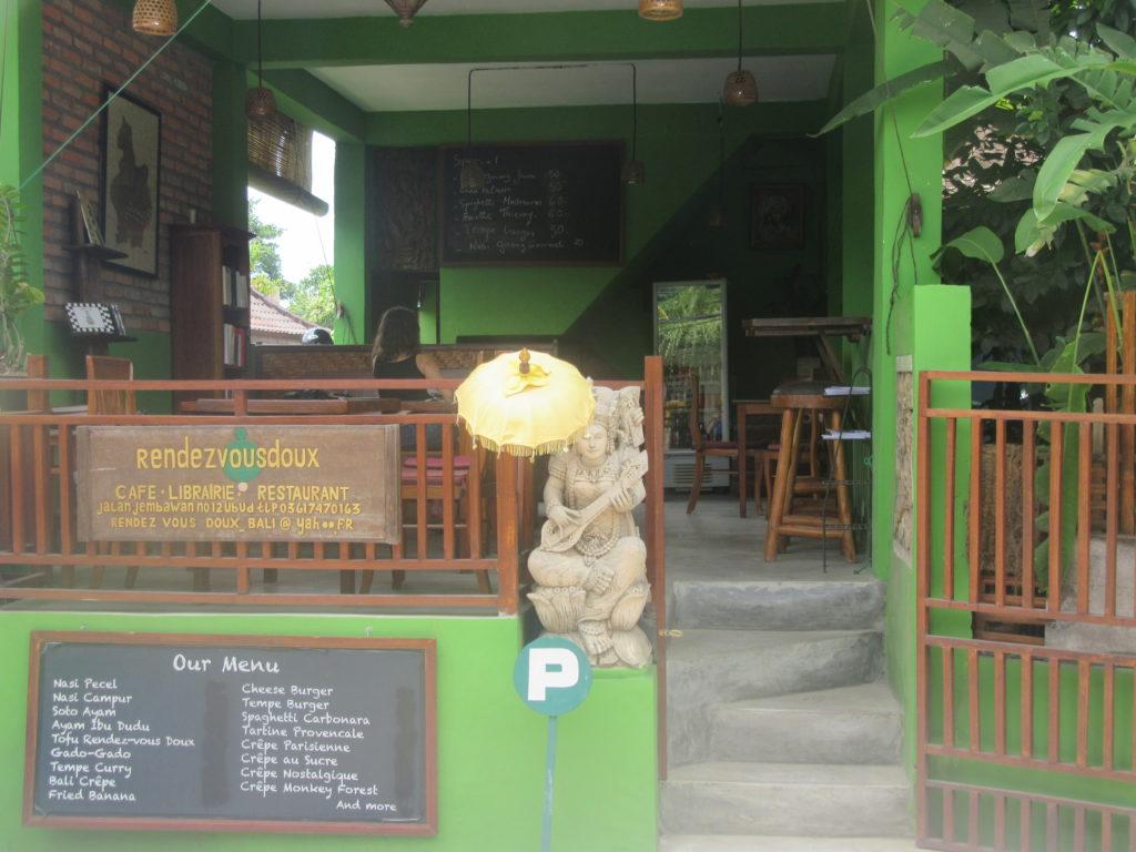 Les Rendez-vous doux à Ubud un lieu sympa pour acheter un livre ou manger
