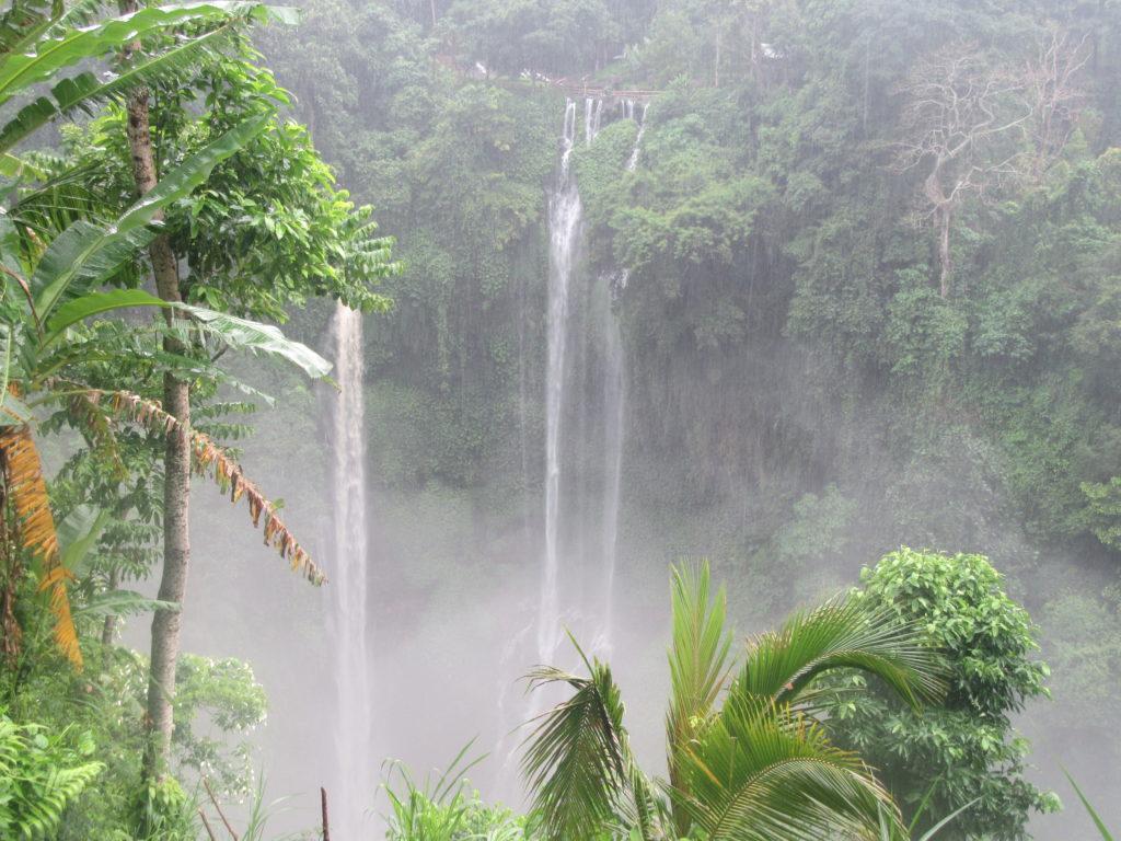 Cascades de Sekumpul à Bali