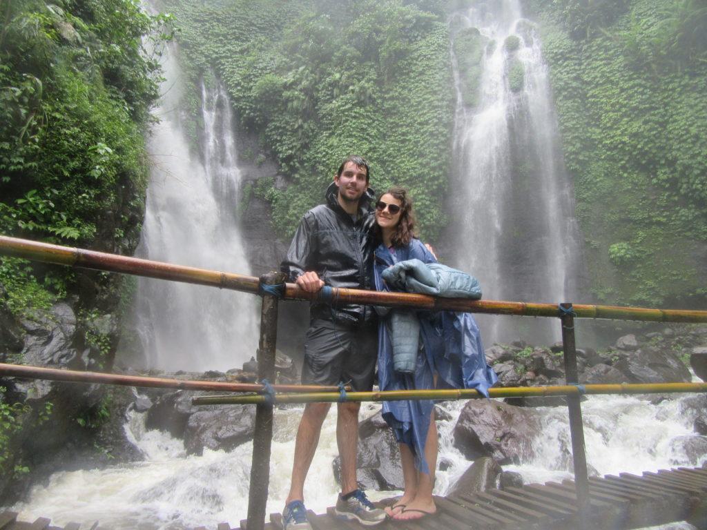 Cascades à Bali