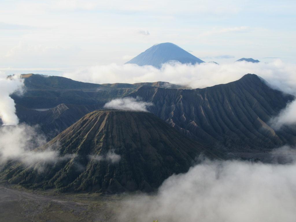 Le volcan Bromo sur Java Indonésie