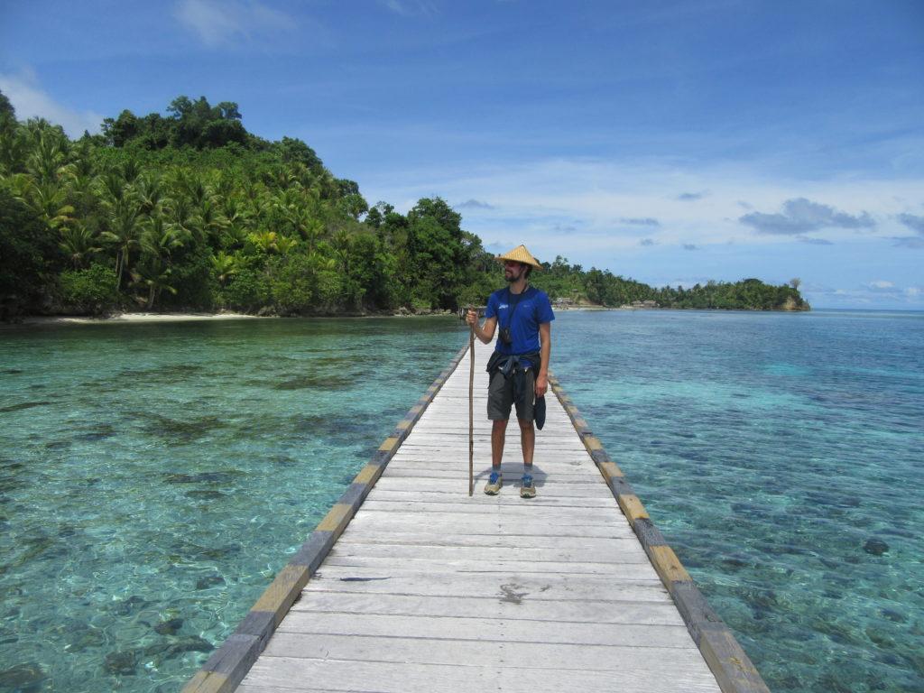 Ile de Malenge ile togian Sulawesi