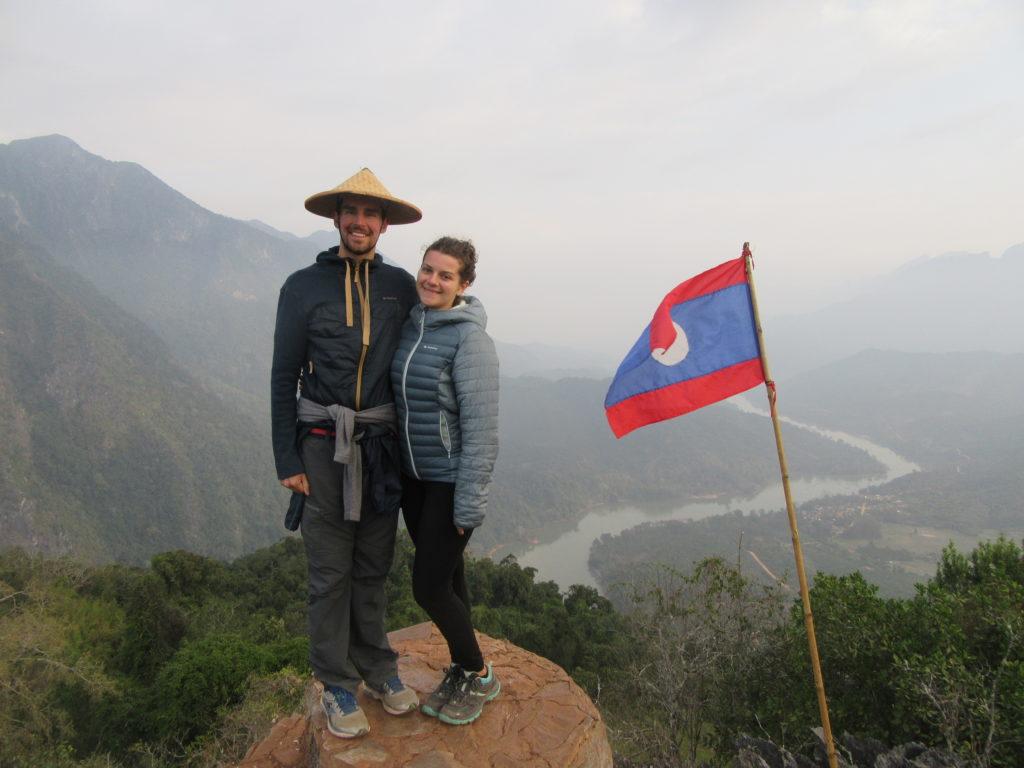 Panorama nord du Laos Nong Khiaw