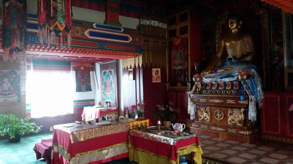 Kalmoukie région russe majoritairement bouddhiste