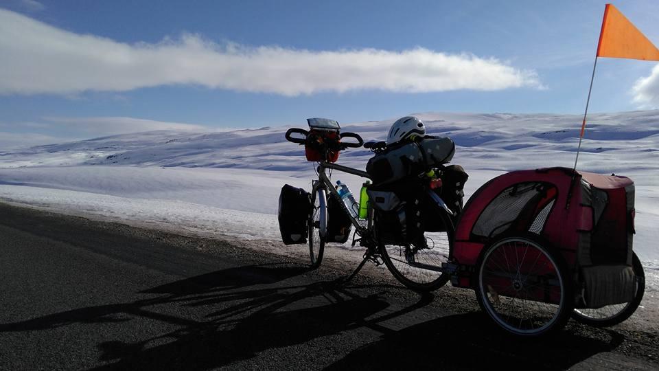 Laponie suédoise à vélo