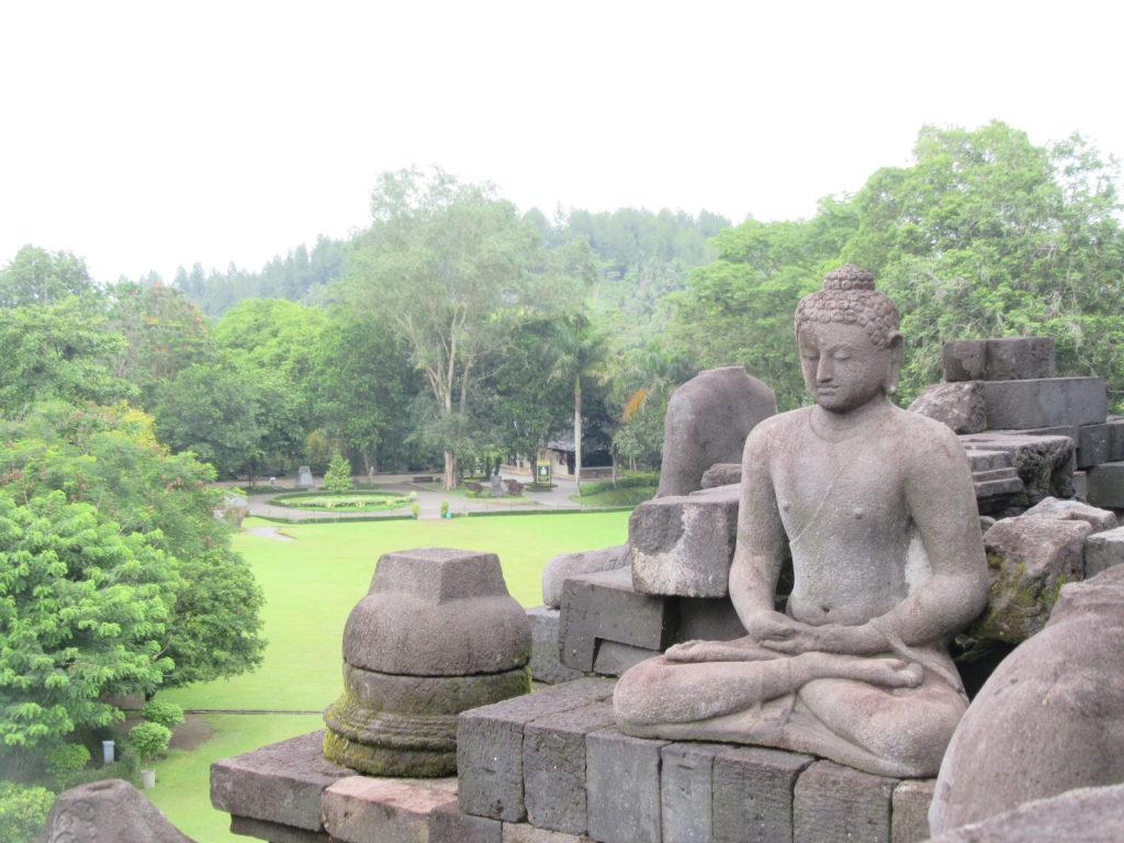 Temple de Borobudur à Jogjakarta