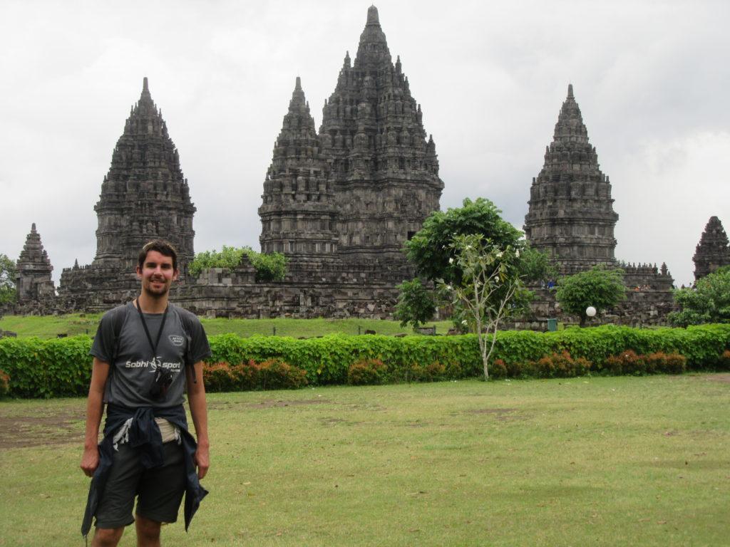 Temple de Prambanan à Jogjakarta Indonésie Java
