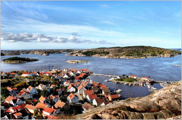 Fjallbacka en Suède