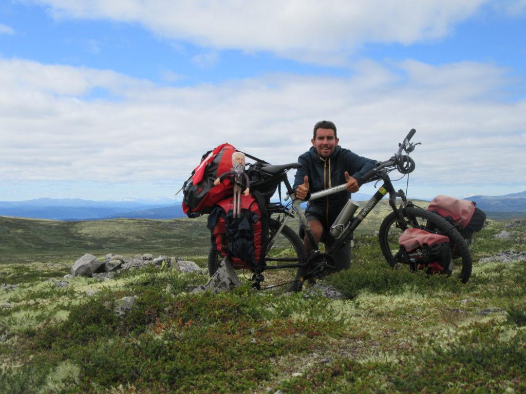 voyage a velo en Norvege