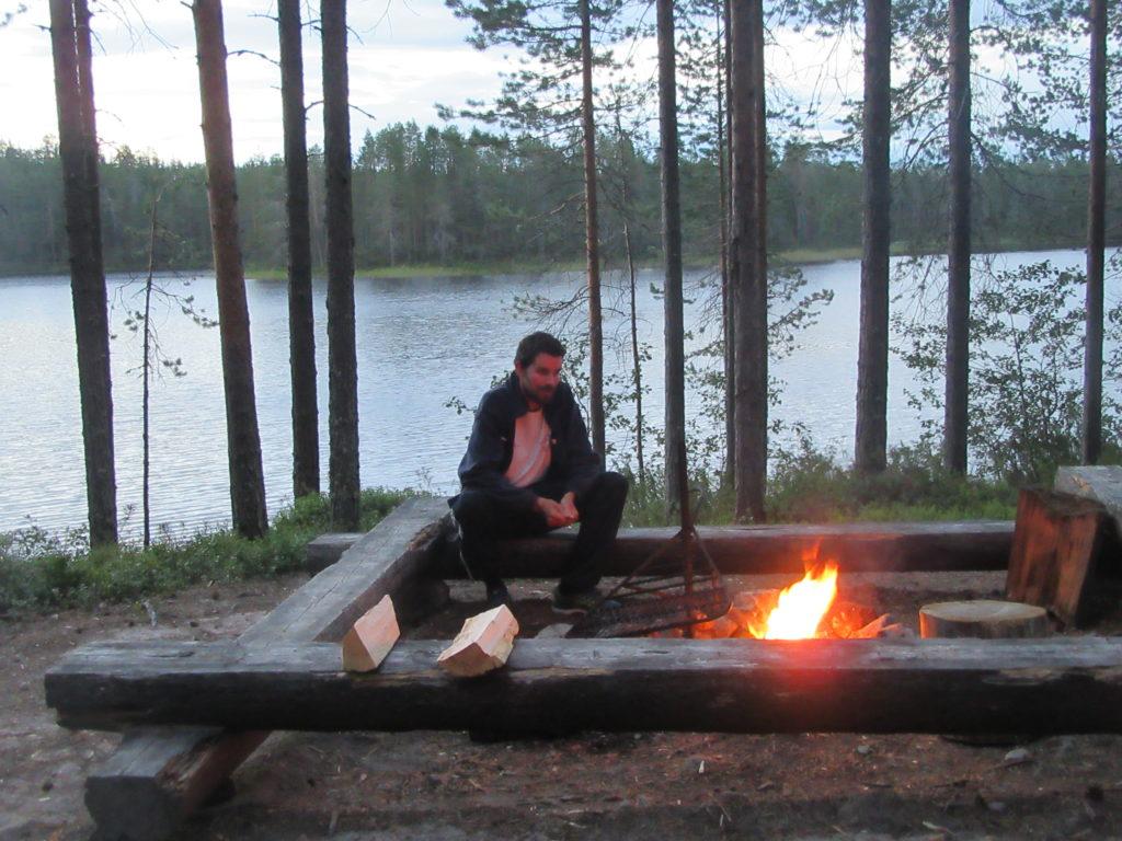 Bivouac Carélie Finlande nature