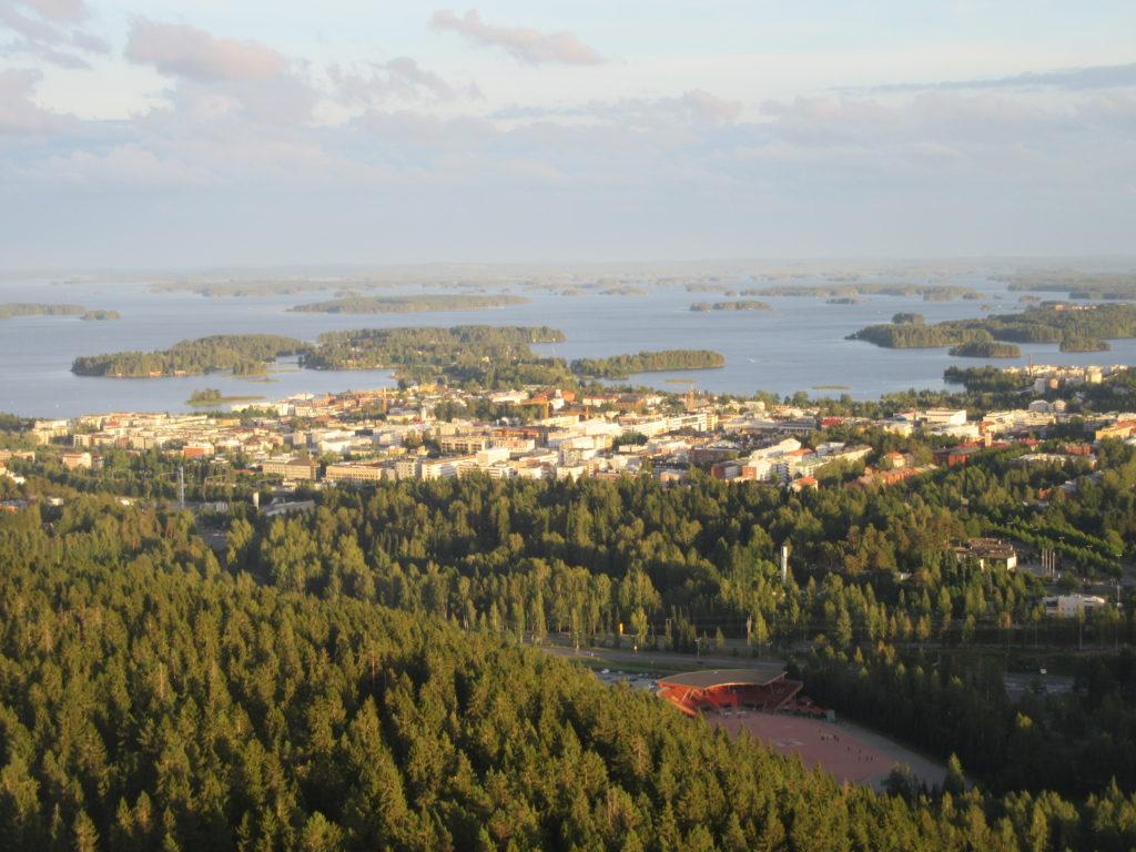 Lacs Kuopio Finlande