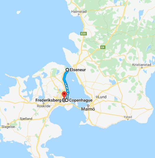 voyage à vélo Danemark