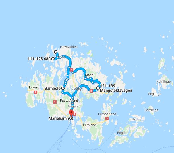 archipel de Aland à vélo