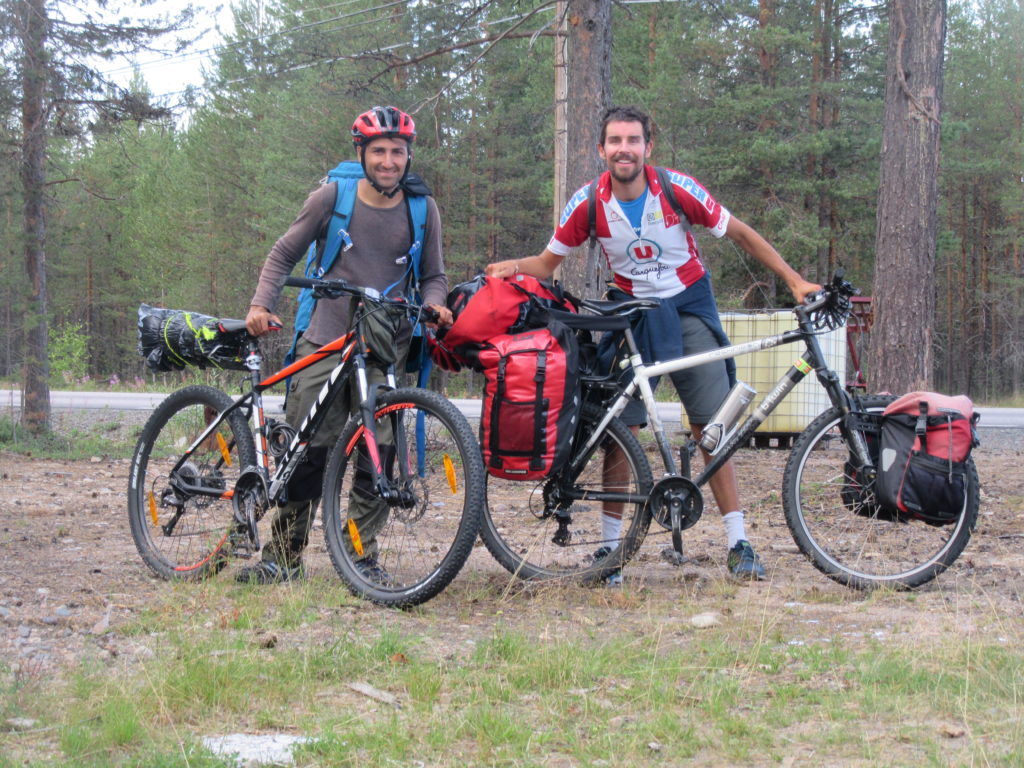 rencontre voyage à vélo Suède