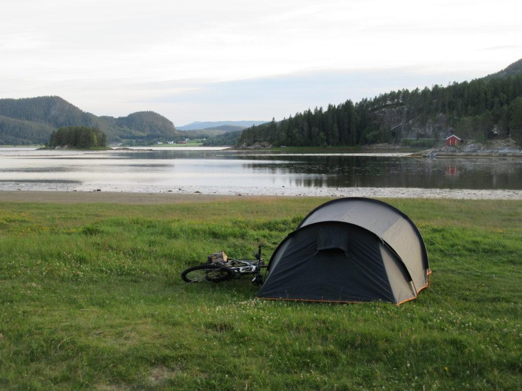 Bivouac sauvage Scandinavie Norvège